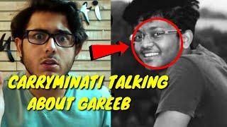 Carryminati talking about Gareeb.