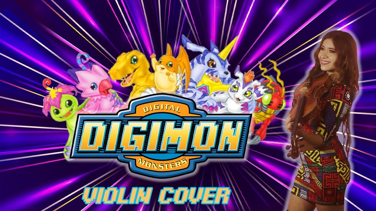 DIGIMON OPENING | VIOLIN COVER