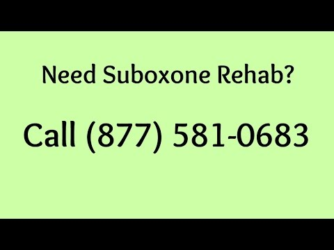 Suboxone Clinic Wilmington NC - Call 877 581-0683