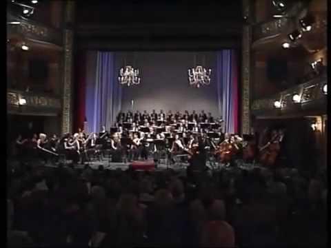 Concert in Sarajevo - Aerial shot of me!
