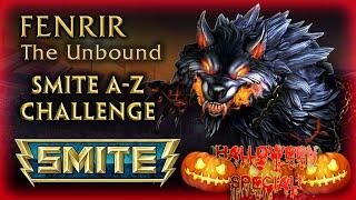 Smite A-Z Challenge- Fenrir- The Unbound (Happy Halloween!)