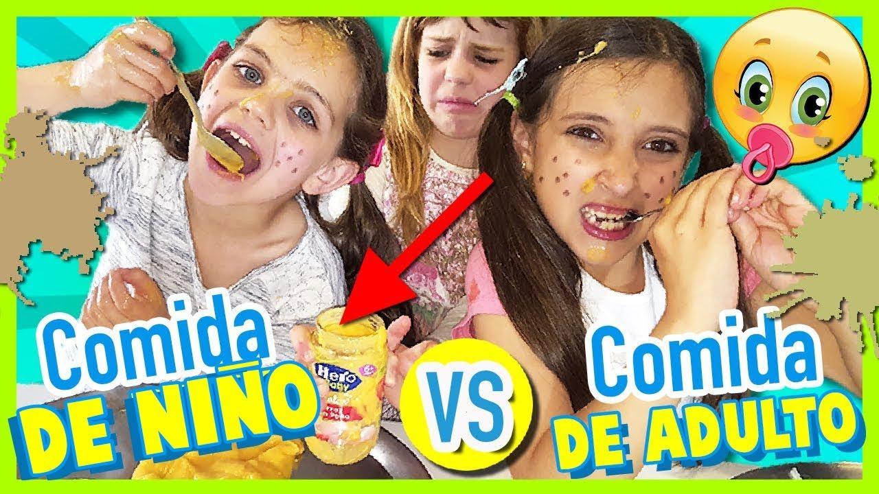 Niños Vs Adulto Juegos Divertidos En Español Con Noa Y Sus Primas Youtube
