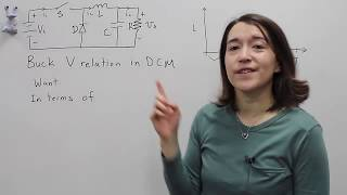 Buck Converter Voltage Equation in Discontinuous Conduction Mode (DCM)