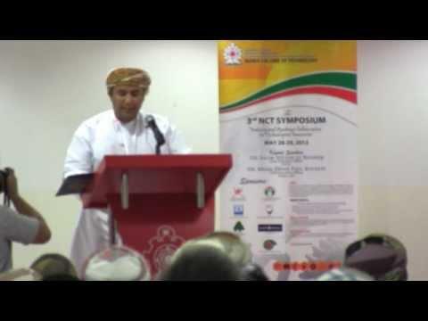 NCT 3rd Symposium- Opening Program (Part 1)