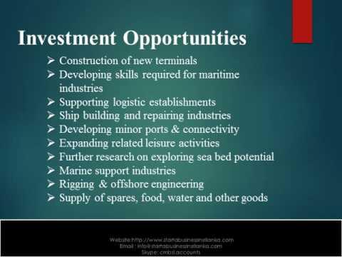 Start a Business in Sri Lanka - Maritime Sector