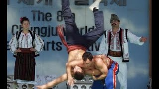 ТРЫНТА. (Молдова). Боевые искусства мира. Martial arts world. TRYNTE. (Moldova)