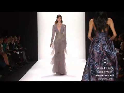 """""""BADGLEY MISCHKA"""" New York Fashion Week Fall Winter 2014 2015 by Fashion Channel"""