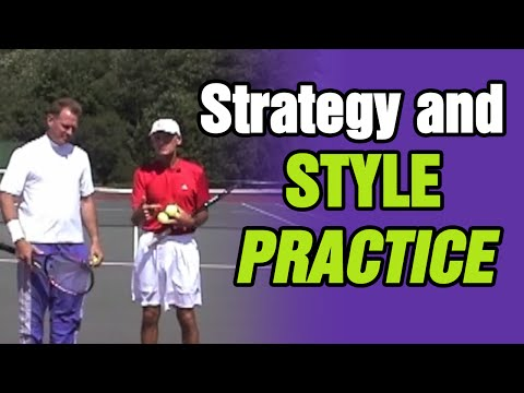 Tennis - Strategy And Style Practice Session | Tom Avery Tennis 239.592.5920