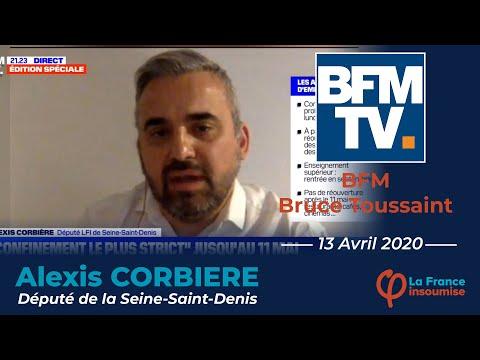 """""""Le discours de Macron est contradictoire avec ses premières années au pouvoir ! """" Alexis Corbière"""