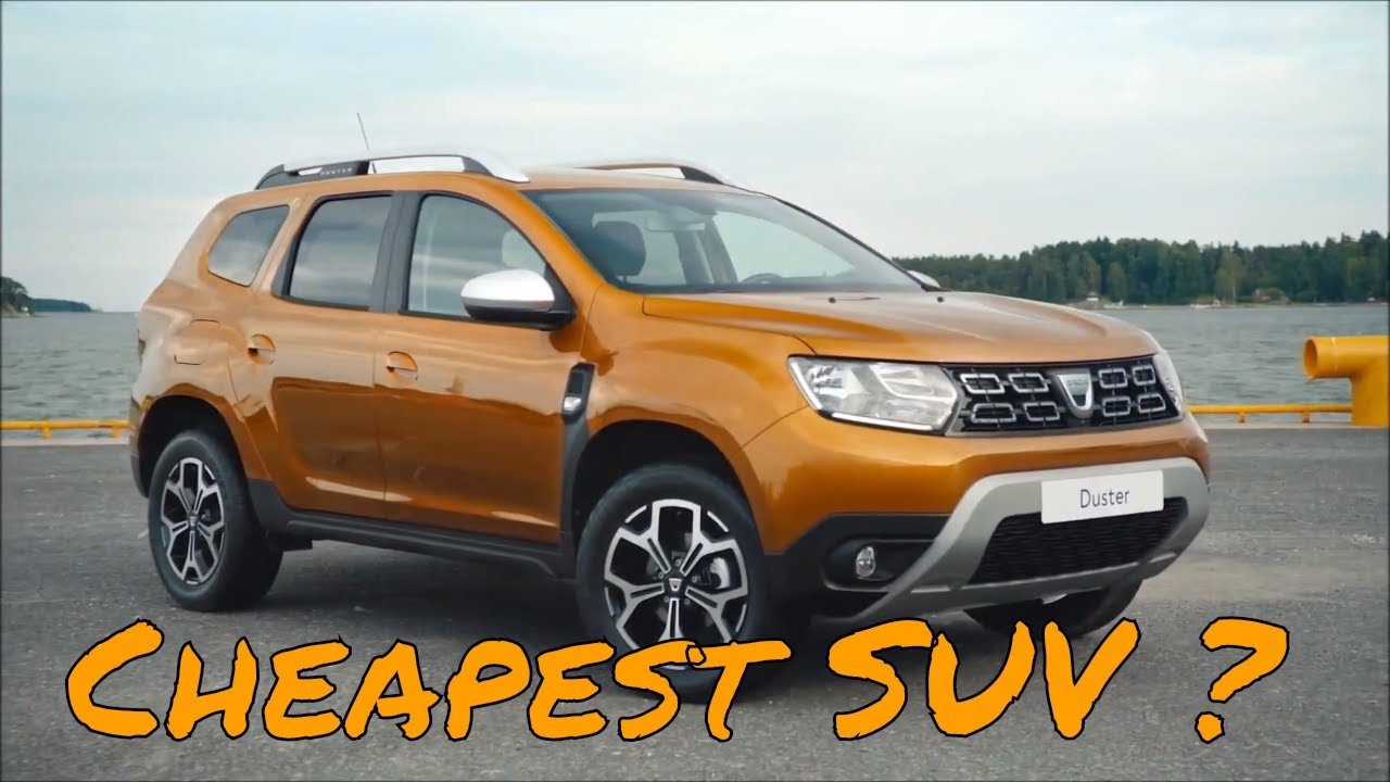dacia duster 2018 cheap suv youtube. Black Bedroom Furniture Sets. Home Design Ideas