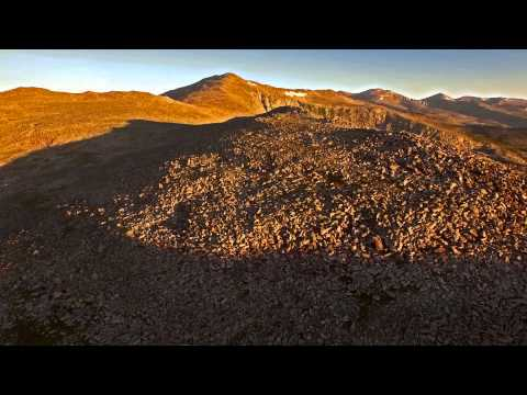 Bighorn Mountains, Flying at Sunrise on Loaf Mountain Wyoming