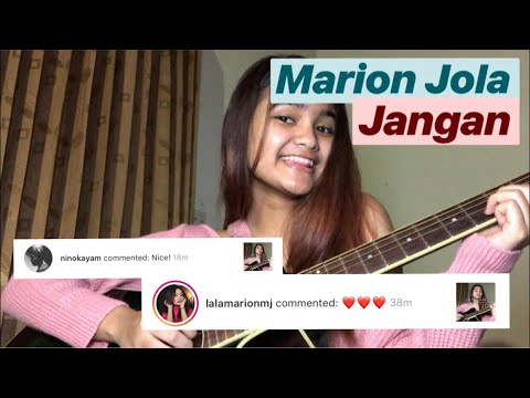 Marion Jola - Jangan (Short Cover) | #coverinday