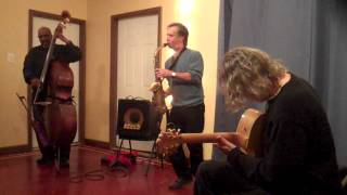 Joe Morris, Marco Eneidi, William Parker @ Studio 34, Philadelphia, 10-13-12 2/2