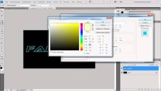 Урок Photoshop #2   Неоновый 3D Текст