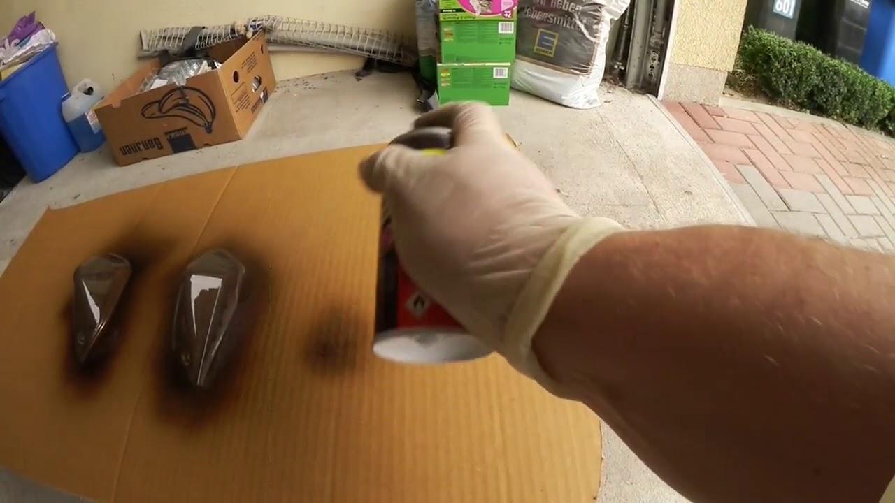 Stop Lamba Camı Transparan Boyama Uygulama Videosu Youtube