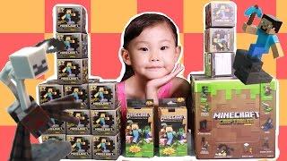 라임이의 마인크래프트 액션 피규어 랜덤박스 장난감 놀이 minecraft LimeTube & Toy 라임튜브