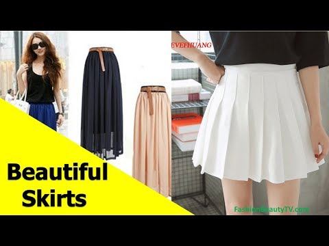 d21743963e 50 beautiful skirts, pencil skirts and best skirts for ladies S5 - YouTube