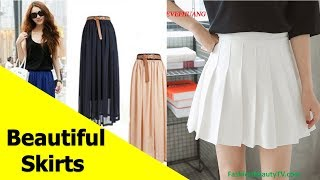 50 beautiful skirts, pencil skirts and best skirts for ladies S5