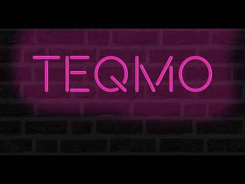 How to create realistic neon light   Photoshop Tutorial   TEQMO Designs thumbnail