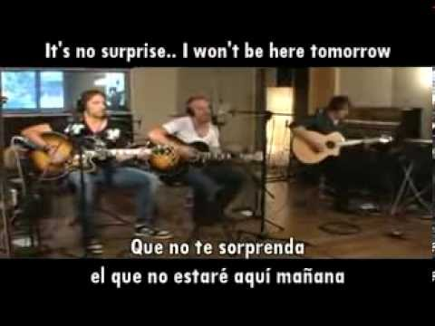 Chris Daughtry No Surprise Subtitulado Español English Lyrics