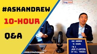 What #AskAndrew 10 Hour Q&A Means For Andrew Yang's Campaign | #Yang2020