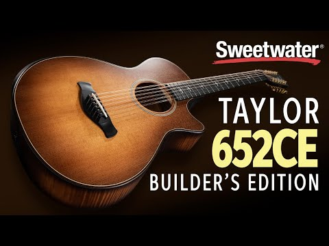 Taylor 652ce Builder's Edition 12-string Acoustic-electric Guitar Demo