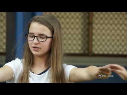 PBS Hawaii - HIKI N? Episode 716   Wheeler Middle School   Madison Loves Hula