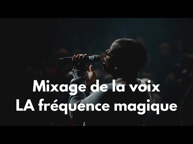 Comment Bien Mixer la voix - La fréquence magique [Mixage en Home Studio]