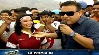 la previa de universitario vs sport huancayo en pasin por el futbol   torneo del inca 2014