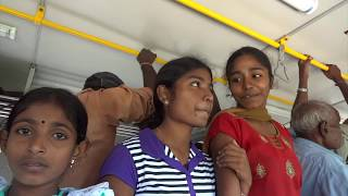 Crowded Buses Sri Lanka India Driving ???