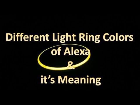 alexa dot flashing yellow light