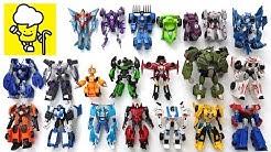 Transformers Robots in Disguise Optimus Prime Bumblebee Sideswipe Strongarmトランスフォーマー 變形金剛