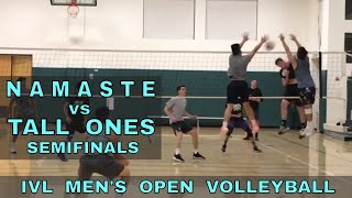IVL Playoffs - Namaste vs Tall Ones (Volleyball League 2018)