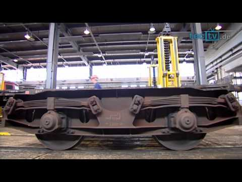 Faszination Zug- Wie die Deutsche Bahn ihre Güterwagen in Schuss hält
