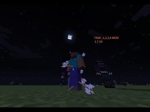 Minecraft fnaf 1 2 3 4 mod 1 7 10 mi mod youtube
