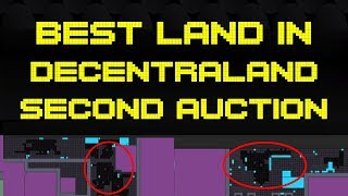The Best Unowned Land Up for Auction in Decentraland!