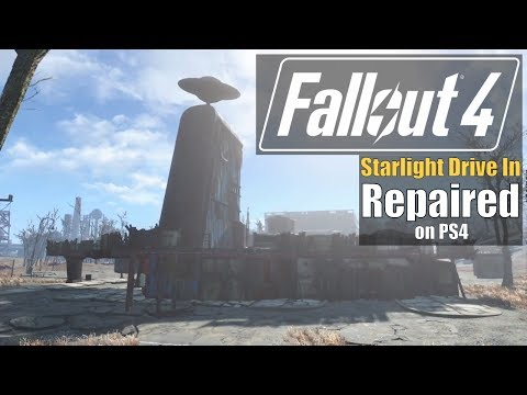 Fallout 4 - Starlight Drive In Repaired (PS4)