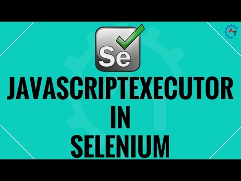 JavaScript Executor  in Selenium