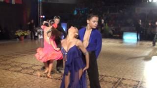 VARADINUM DANCE FESTIVAL 2010 - YOUTH IDSF INTERNATIONAL OPEN LATIN - SEMIFINAL - PART 1