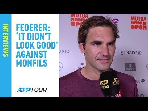 Federer Discusses Thrilling Monfils Match | Madrid 2019