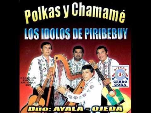 POLKAS Y CHAMAME - LOS IDOLOS DE PIRIBEBUY - DÚO:AYALA-OJEDA - Discos Cerro Cora