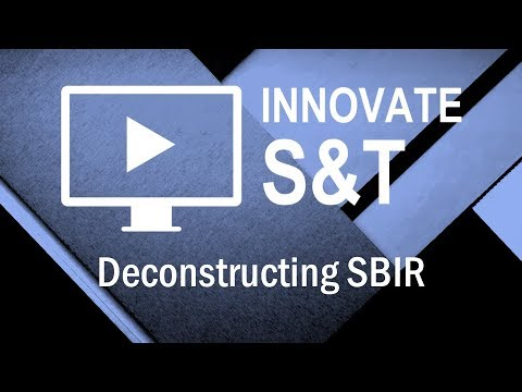 Innovate S&T: Small Business Innovation Research (SBIR) Program