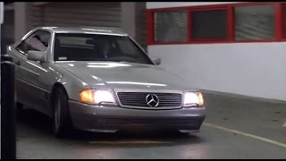 Kelly Lynch and her 500 SL | Footage from 1991