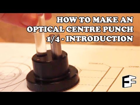 Lathe Project - optical dot punch (1/4)  - #5minFriday - #26