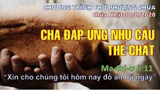 HTTL THÀNH LỢI - Chương trình Thờ Phượng Chúa - 30/08/2020