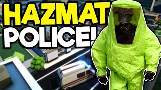 Hazmat Police Must Protect the City! - Rescue HQ Tycoon Gameplay