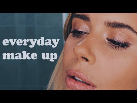 Vlogtober pt. 9 Everyday Make up Tutorial   Hello October thumbnail