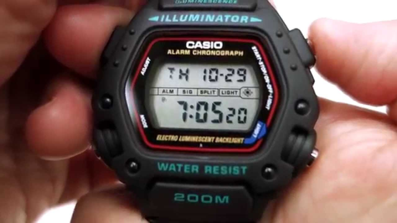 4ae020157c8 Casio DW-290-1VS  the Mission Impossible Watch - YouTube