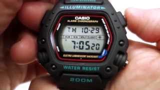 casio dw 290 1vs the mission impossible watch