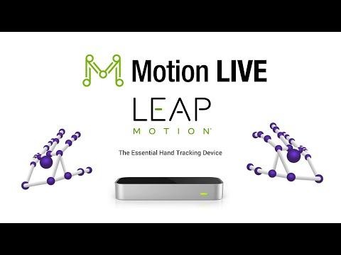 Motion LIVE - Leap Motion